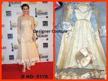 Diya Mirza Semi stitched suit