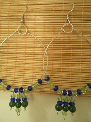 Blue-Green Earrings-Aliff Lailaa-04074