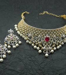 457e6e1dc39 american diamonds necklace-sets - chaahat fashion jewellery - 713816