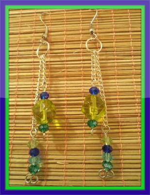 Green season Earrings-Aliff Lailaa-03060