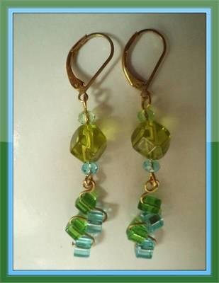 Green Earrings-Aliff Lailaa-01015