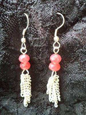 Tiny Red Pods Earrings-Aliff Lailaa-03051