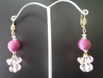 Pinky Pink Earrings-Aliff Lailaa-04072