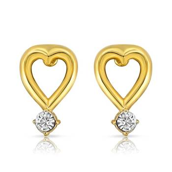 Mahi Agradable Beauty Earrings With Gold Plating
