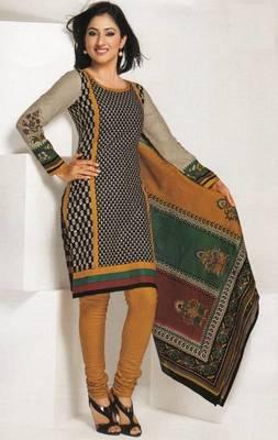 Dress material cotton designer prints unstitched salwar kameez suit d.no 1808