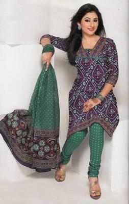 Dress material cotton designer prints unstitched salwar kameez suit d.no 1816