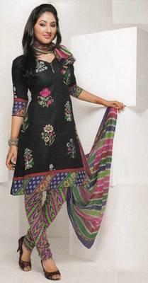 Dress material cotton designer prints unstitched salwar kameez suit d.no 1817
