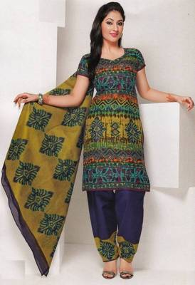 Dress material cotton designer prints unstitched salwar kameez suit d.no 1818