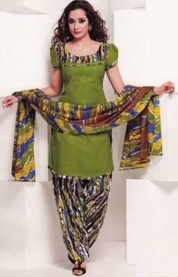 Dress material cotton designer prints unstitched salwar kameez suit d.no 1819