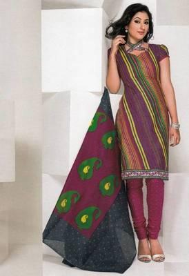 Dress material cotton designer prints unstitched salwar kameez suit d.no 1821