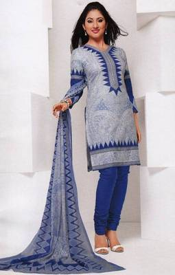 Dress material cotton designer prints unstitched salwar kameez suit d.no 1823