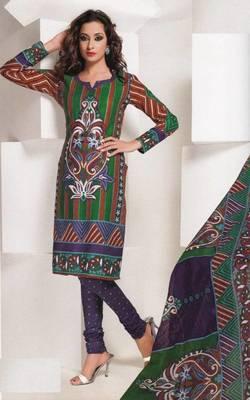 Dress material cotton designer prints unstitched salwar kameez suit d.no 1826