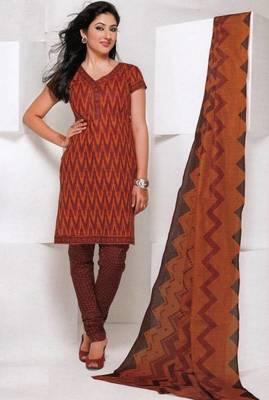 Dress material cotton designer prints unstitched salwar kameez suit d.no 1840