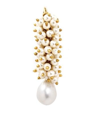 Aradhyaa Pearl Beaded Ethnic Earrings