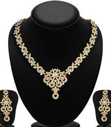 Buy Angelic 2 Pieces Necklace Set Combo jewellery-combo online