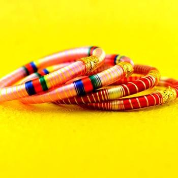hand made stretchable bangle