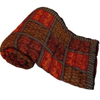 Jaipuri Print Cotton Double Bed Razai
