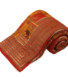 Traditional Print Coton Double Bed Razai razais