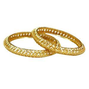 24 KT PLATED BANGLE