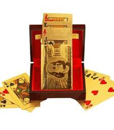 Buy gold plated playing cards gifts-for-him online