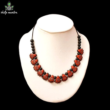 Shilpmantra's Ecofriendly Fashion Terracotta Necklace