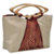 Ivory Apllique bag