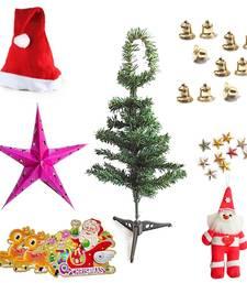 Santa Claus Christmas Tree Stars n Bells Xmas Gift 101