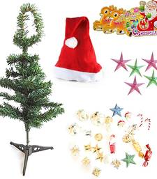 Buy Send Christmas Tree Stars n Decoration Box Hamper 102 christmas-decoration online