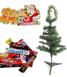Christmas Tree n 400gms Imported Chocolates Hamper 117