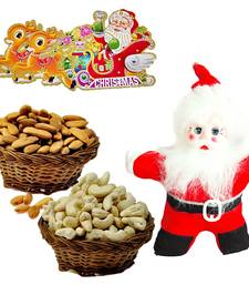 Buy Santa Toy n 200gm Cashew Almonds Christmas Gift 129 christmas-gift online