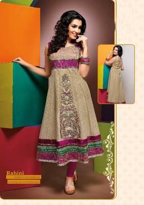 ISHIN Cotton Cream kurti Rahini_L