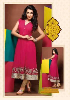 ISHIN Cotton Pink kurti Ruchi_M