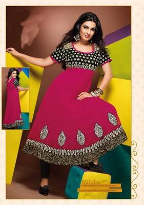 ISHIN Cotton Pink kurti Mihika_XL