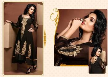 ISHIN Cotton  Black kurti Joban_XL