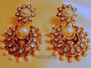 royal series meena danglers