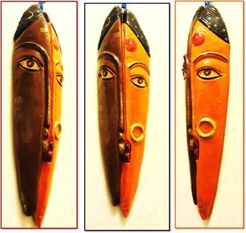 Terracotta Ardhanarishvara