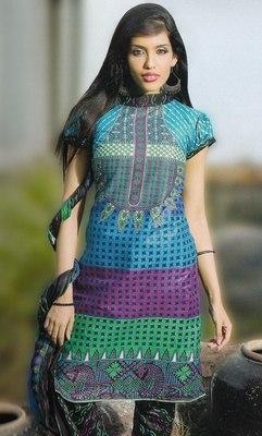 Elegant Cotton Dress Material Unstiched Salwar Kameez Suit D.NO. PB10008