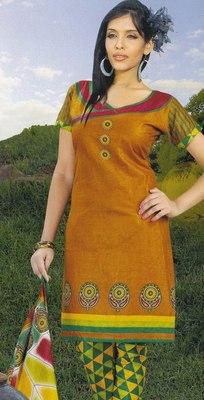 Elegant Cotton Dress Material Unstiched Salwar Kameez Suit D.NO. PB10009