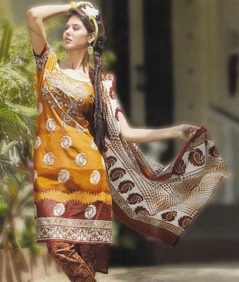 Elegant Cotton Dress Material Unstiched Salwar Kameez Suit D.NO. PB10013