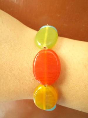 Multicolored bracelet-Aliff Lailaa-070107