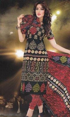 Elegant designer Lawn coton unstitched dress material D.No. BC4011