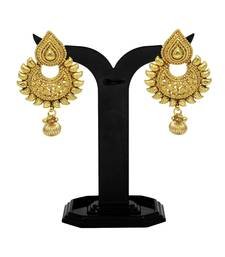 Buy Elegant & Stunning Earrings Set with Golden Moti for Gorgeous Women Jewellery Earrings Other online