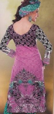 Elegant designer Lawn coton unstitched dress material D.No. BC4019