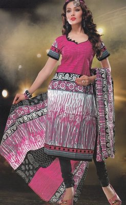 Elegant designer Lawn coton unstitched dress material D.No. BC4021