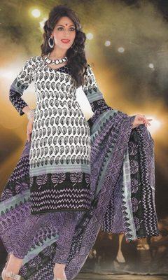 Elegant designer Lawn coton unstitched dress material D.No. BC4015
