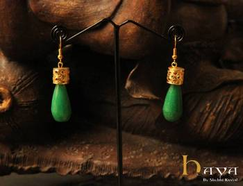 Jali Bead Earrings
