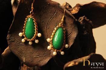 Pearl & Quartz earring