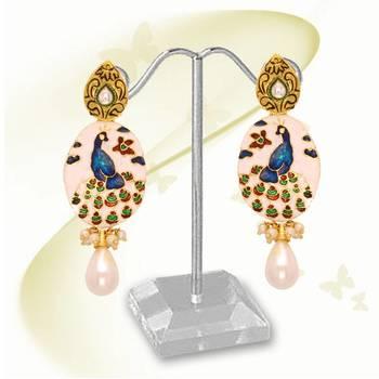 Peacock Earring 7644