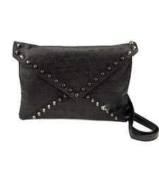Buy Black Skull Print Sling Bag clutch online
