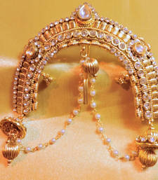 Buy royal gold platted real look hairpin hair-accessory online